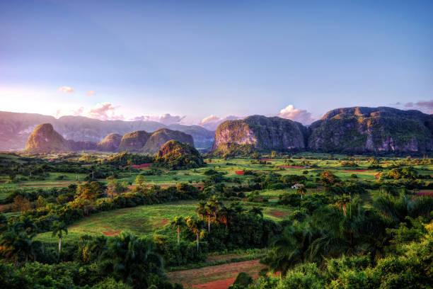 Cuba Vinales stock photo