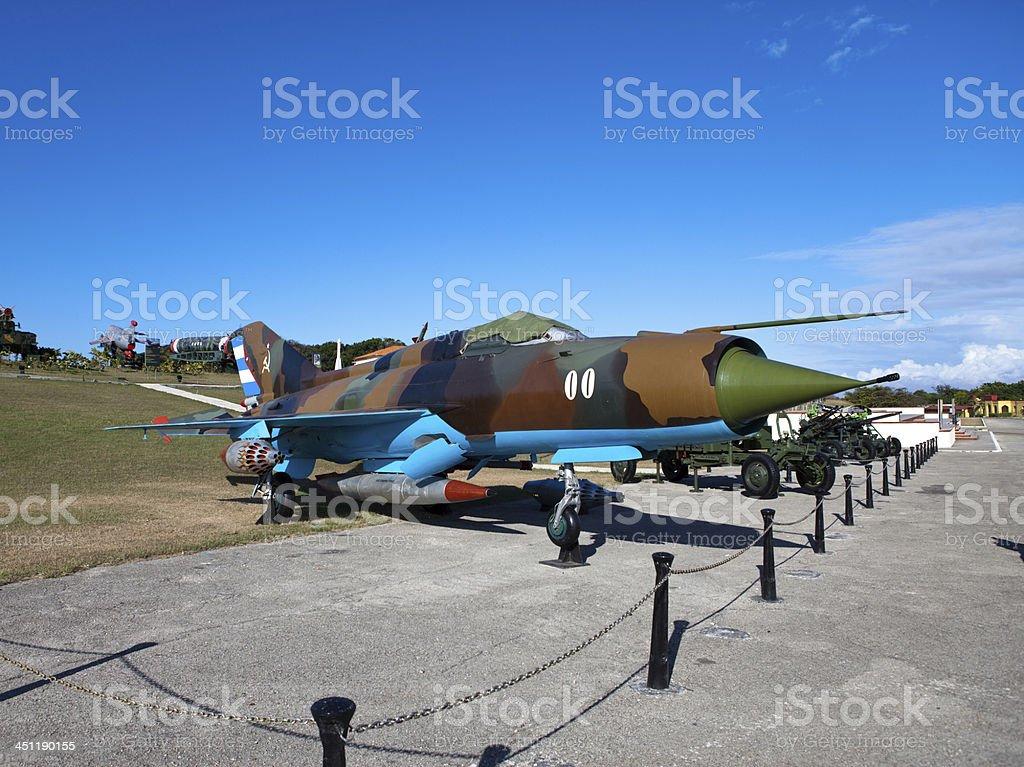 Cuba.Havana.exhibition Soviet weapon devoted to memory of the Caribbean Crisis stock photo