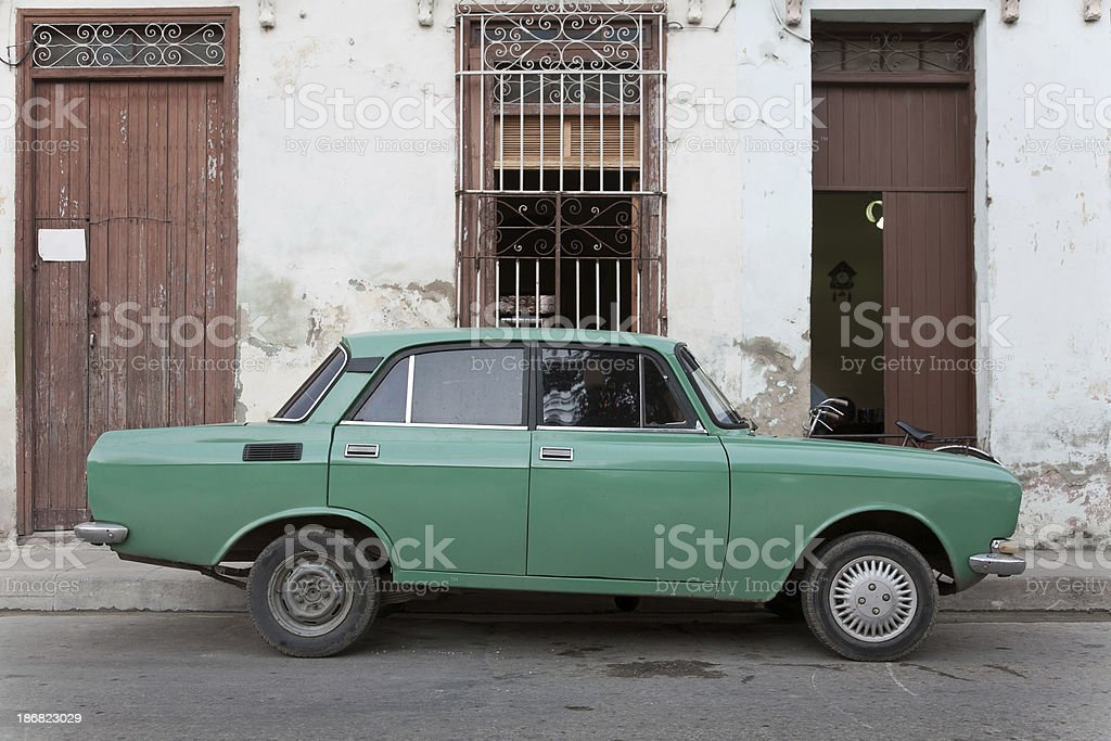 Cuban car royalty-free stock photo