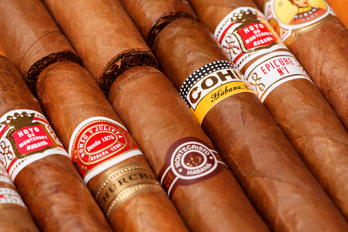 Cuban Cigars Stock Photo - Download Image Now