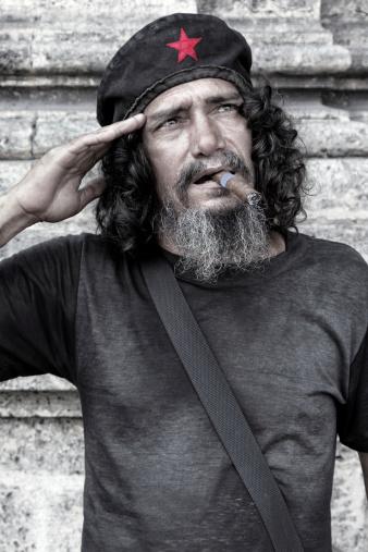Cuban Communist Salute Stock Photo - Download Image Now