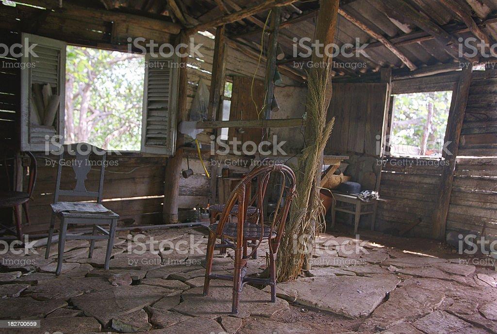Cuban cottage royalty-free stock photo