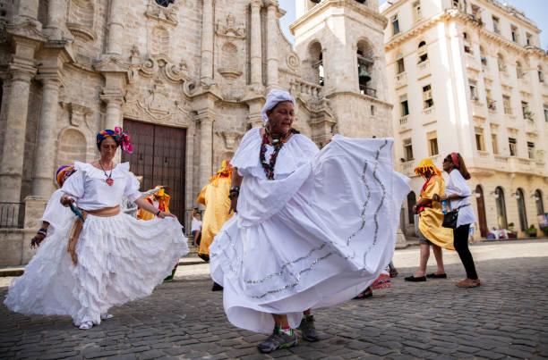 Cuban Dance stock photo