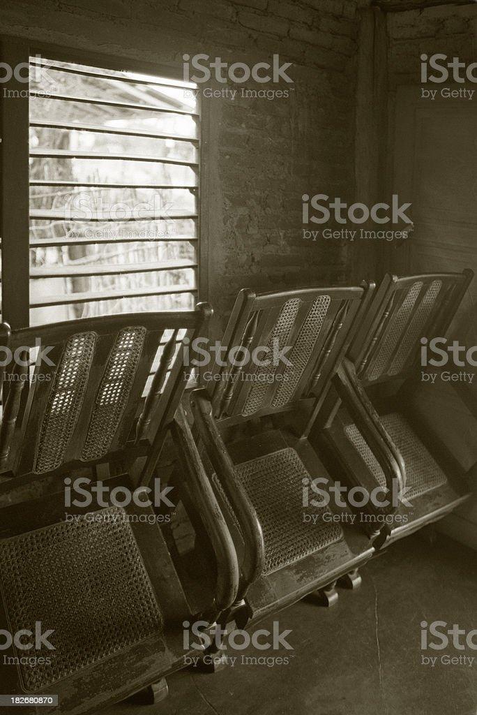Cuban interior royalty-free stock photo