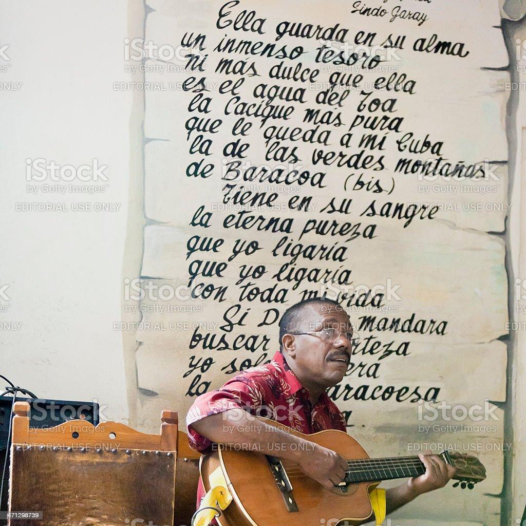 Cuban Musician royalty-free stock photo