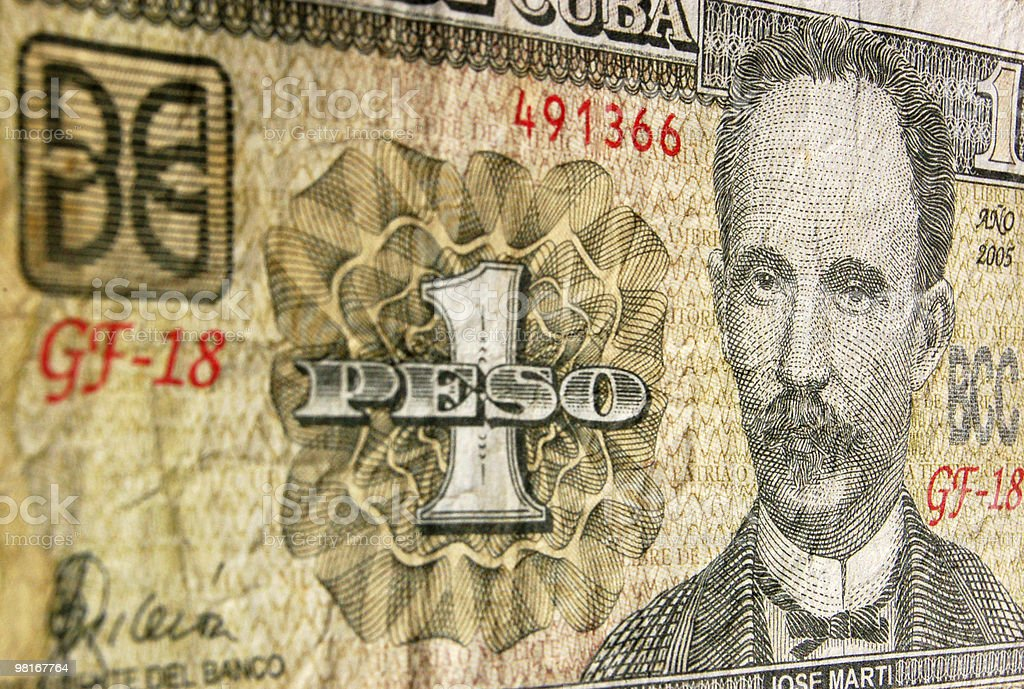 Cuban Peso royalty-free stock photo