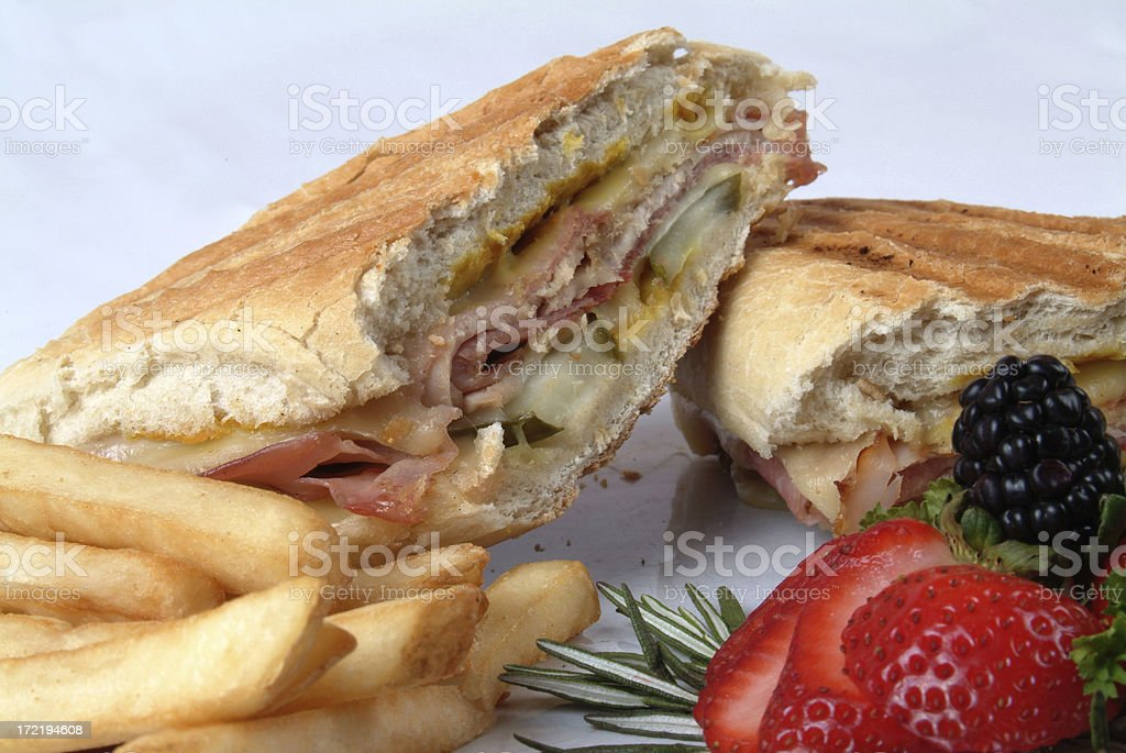 Cuban Sandwich stock photo