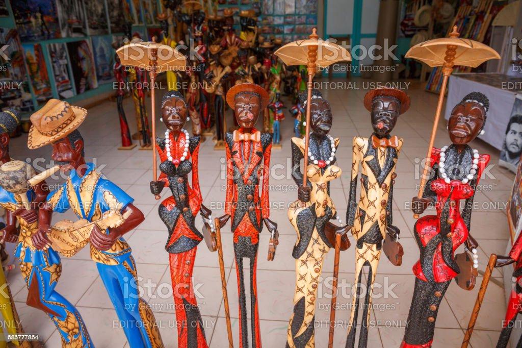 Cuban souvenirs royalty-free stock photo