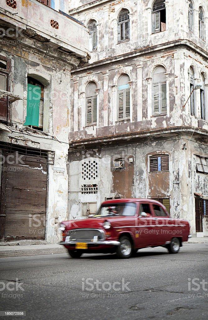 Cuban traffic stock photo