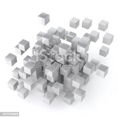482650499istockphoto Cube and blocks 502559669