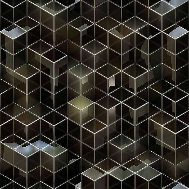 cube Background refined stock photo