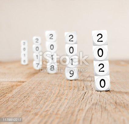 619522908istockphoto Cube Blocks Concept 1175512217