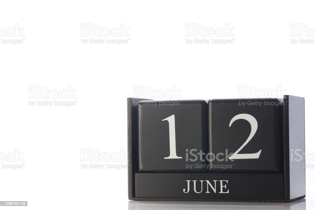 calendário cubo - foto de acervo