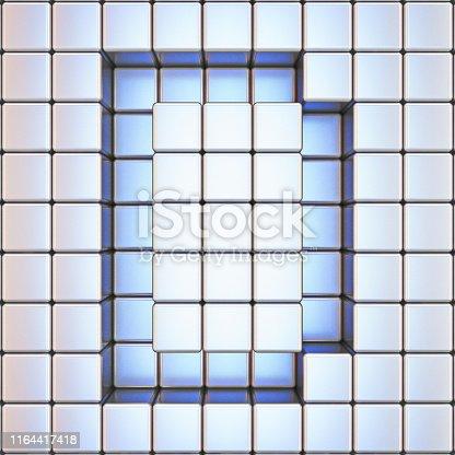 583978154istockphoto Cube grid Letter D 3D 1164417418