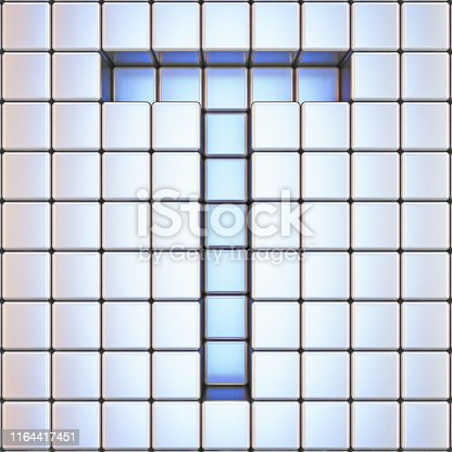 583978622istockphoto Cube grid Letter T 3D 1164417451
