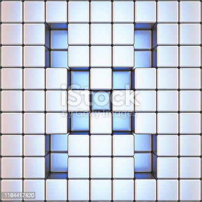 1039536404istockphoto Cube grid Letter X 3D 1164417420