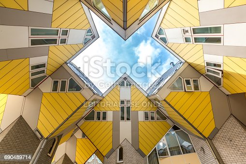 istock Cube houses Rotterdam Netherlands 690489714