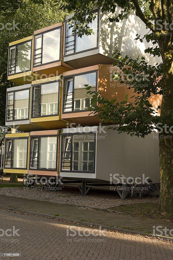 cube housing stock photo