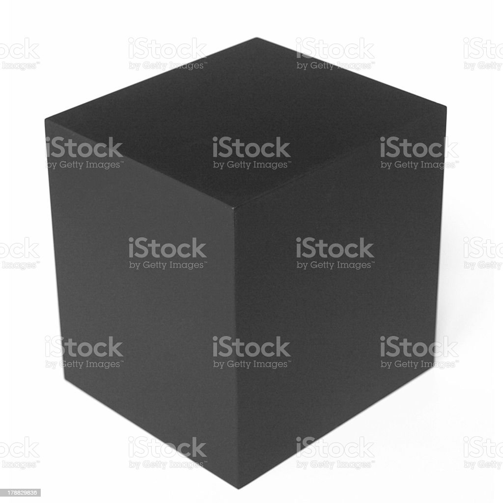 Cube picture stock photo