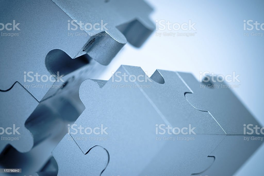 Cube Puzzle royalty-free stock photo