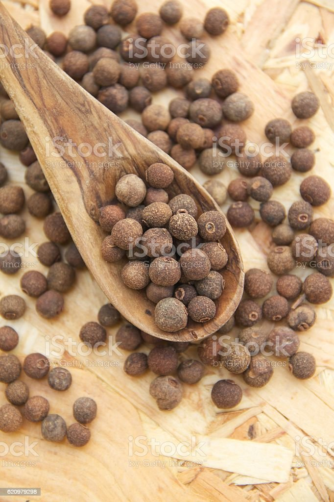Cubeb berries stock photo
