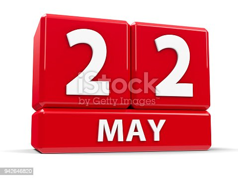 897726350 istock photo Cubes 22nd May 942646820