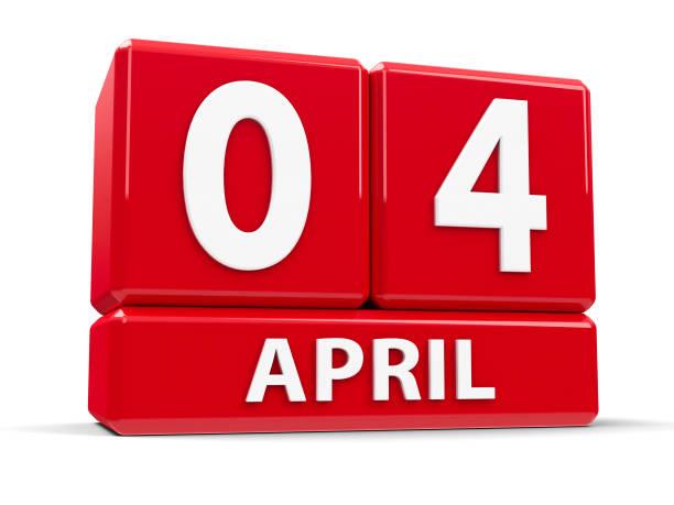 würfel 4. april - senegal news stock-fotos und bilder