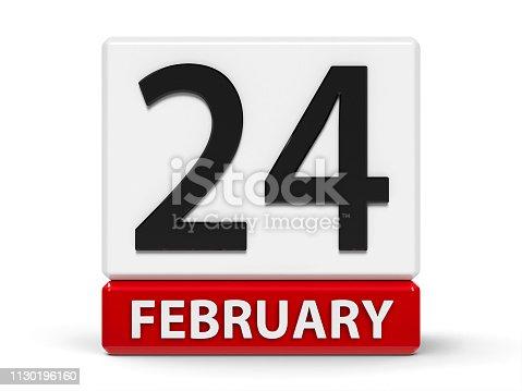 istock Cubes calendar 24th February 1130196160