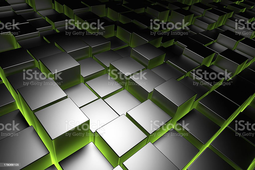 Cubes royalty-free stock photo