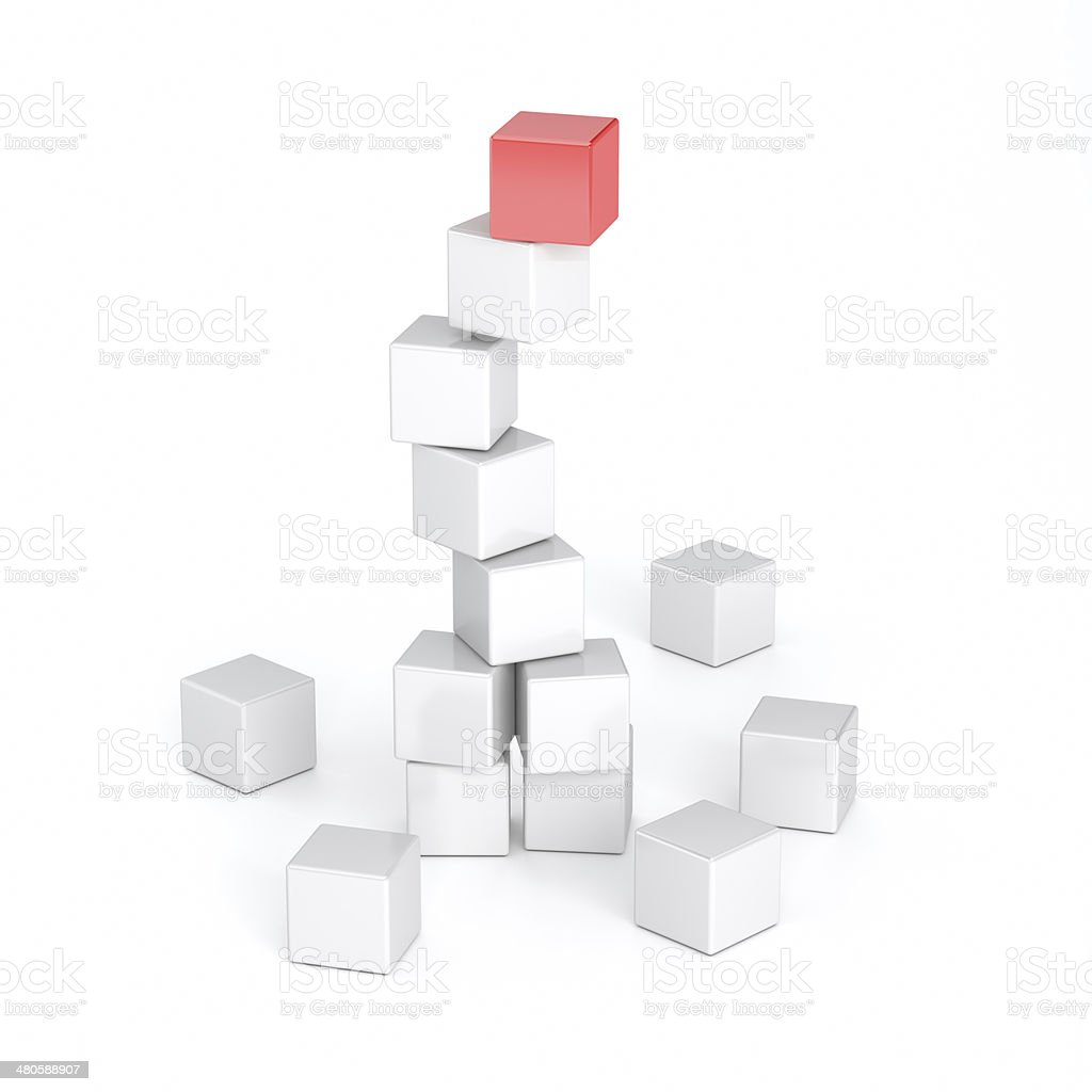 Cubes stock photo