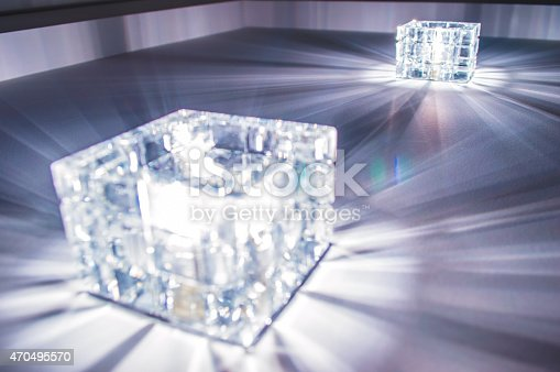 482650499istockphoto Cubes Transform light of leadership and individuality 470495570
