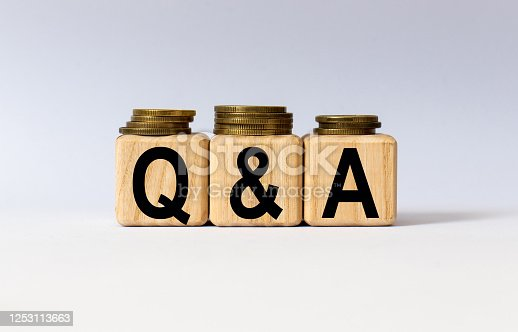 947260978 istock photo cubes with the word Q A on them. Care concept. 1253113663