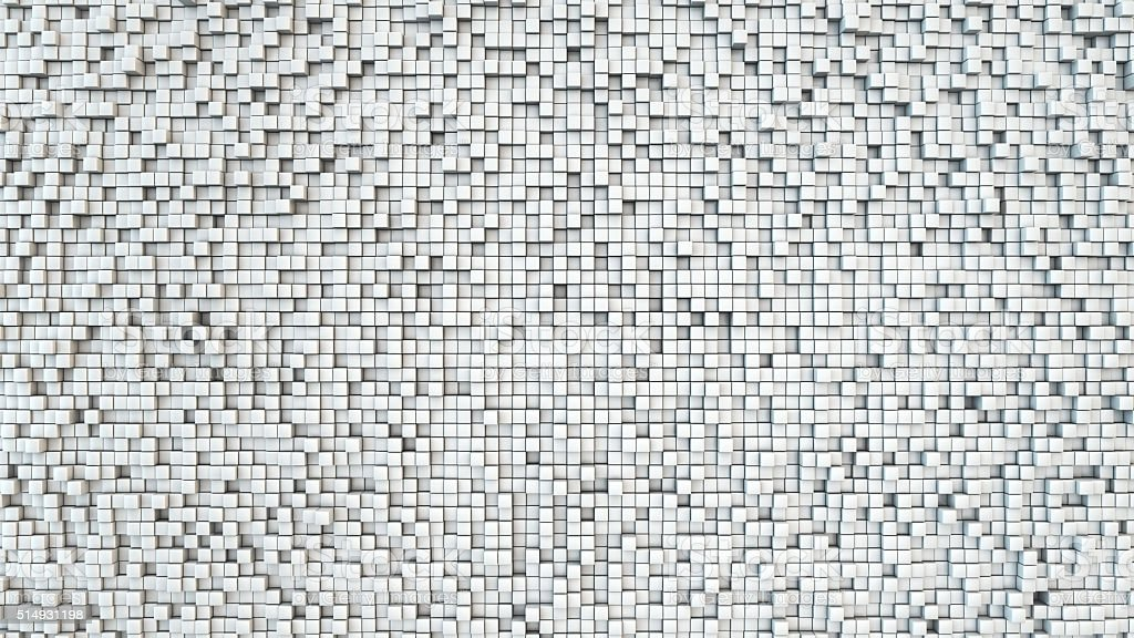 Cubic grid background stock photo