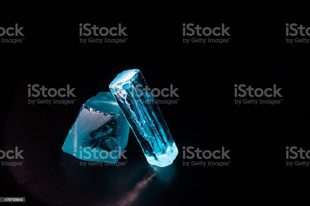 Cubic Zirconia stock photo