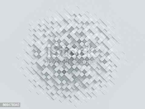 869478294 istock photo cubical abstract background 3d rendering 869478342