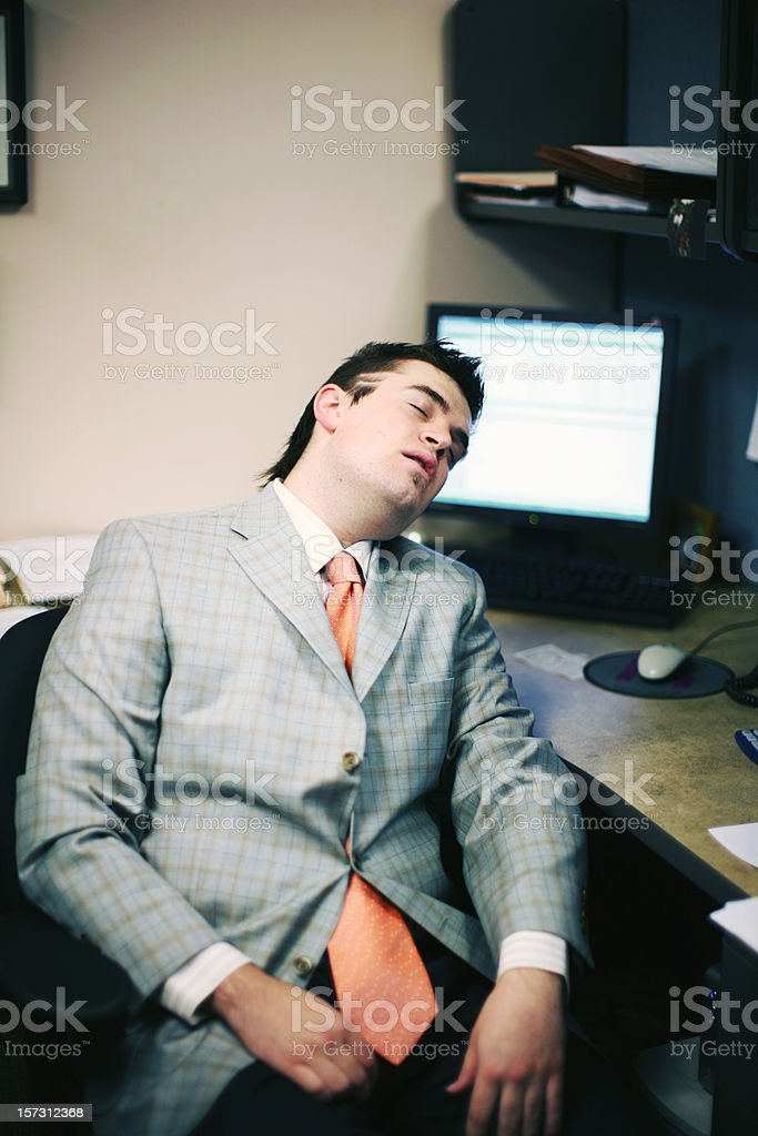 cubicle portraits royalty-free stock photo