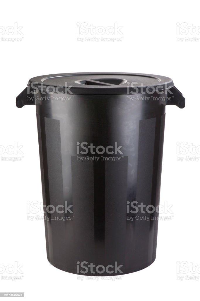 Cubo de baura industrial stock photo
