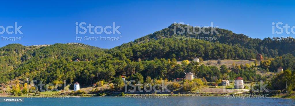 Cubuk Lake zbiór zdjęć royalty-free