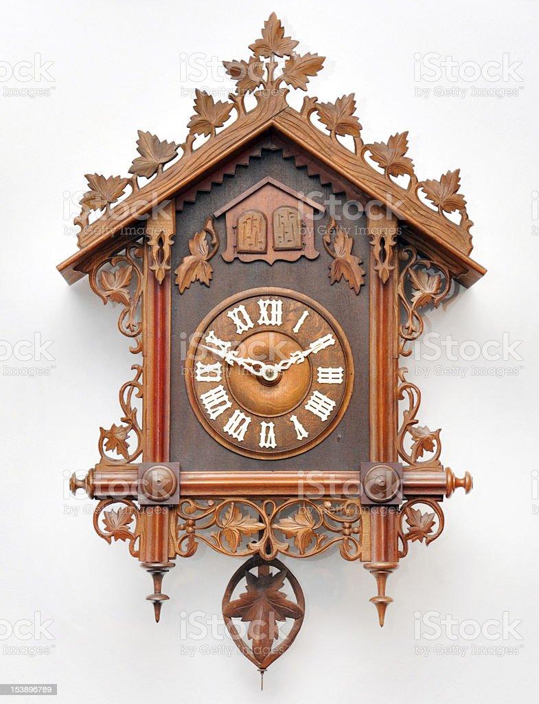 Cuckoo clock stock photo