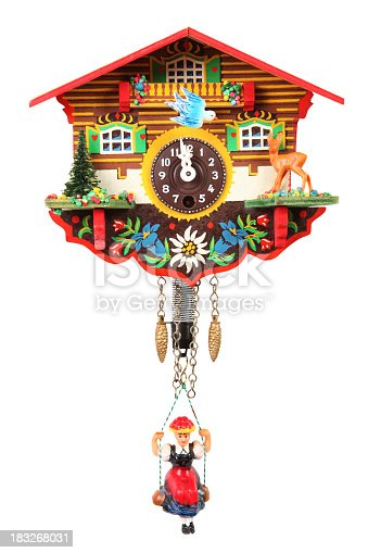 Cuckoo Clock on a white background.
