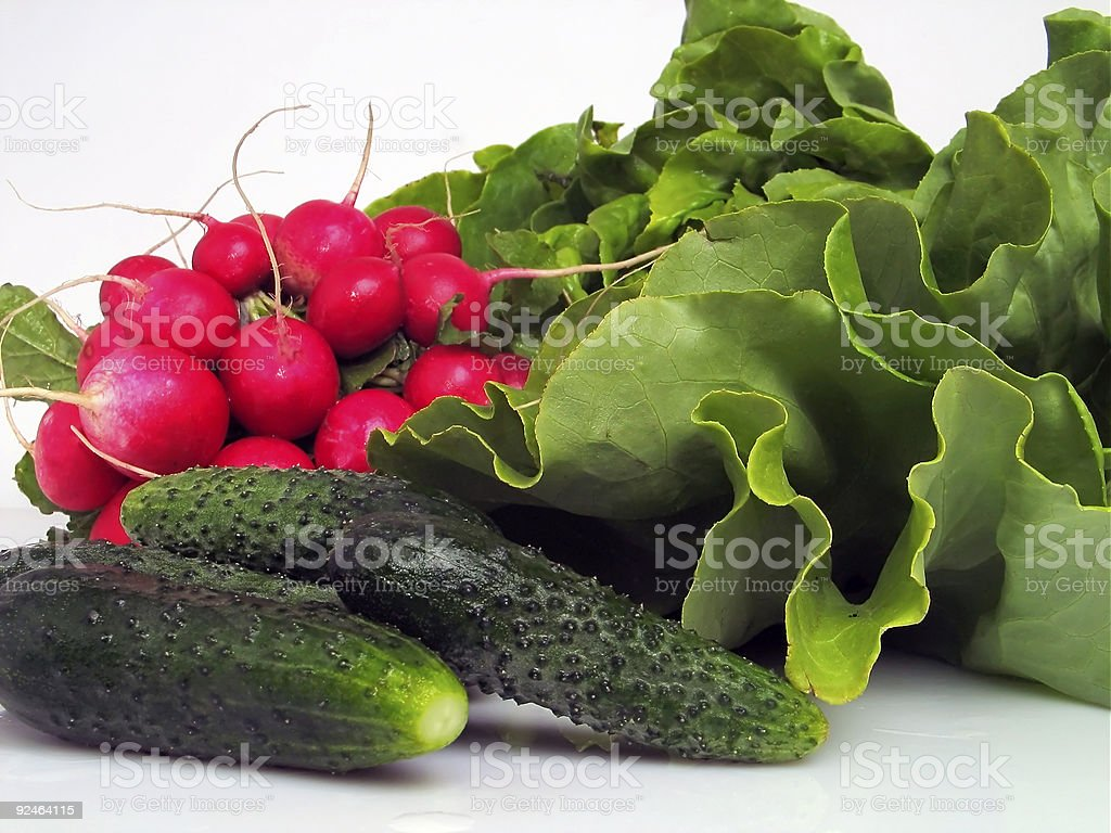 Cucumber and other royalty-free stock photo