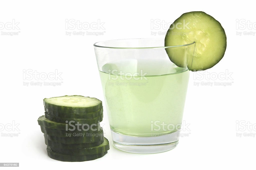 Cucumber drink royalty-free stock photo