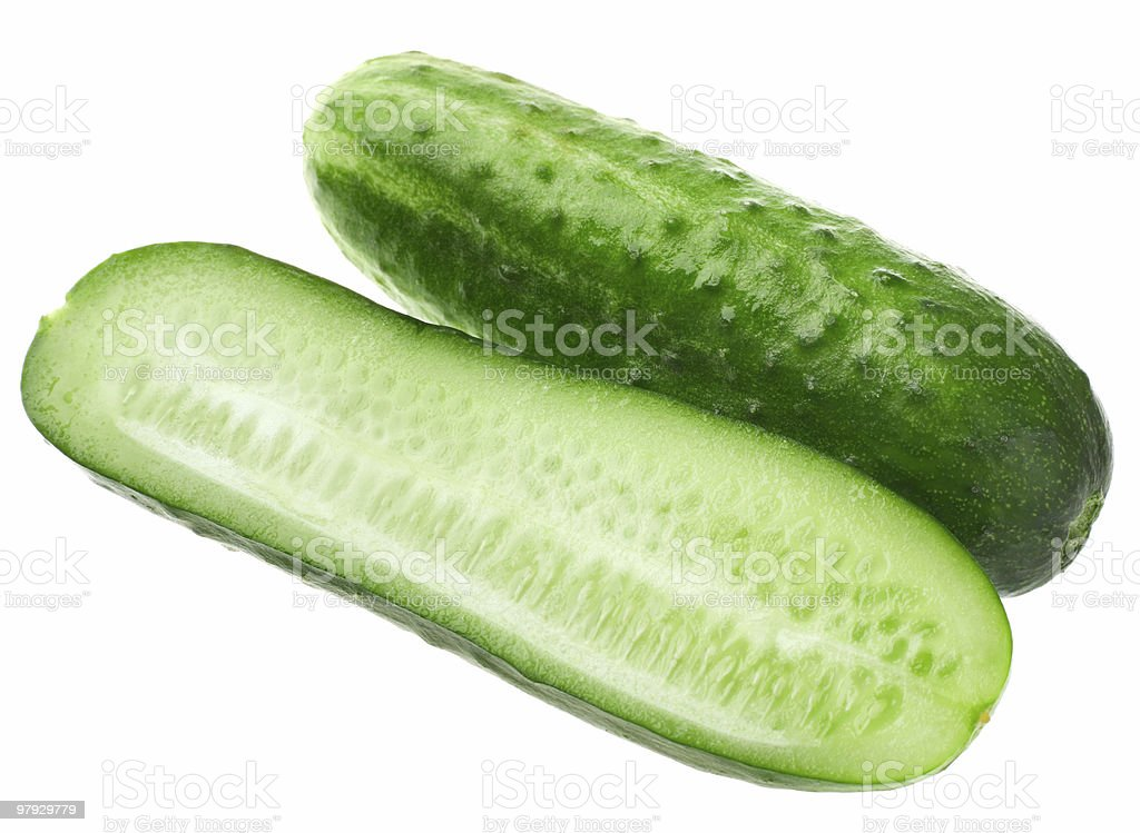 Cucumber group royalty-free stock photo