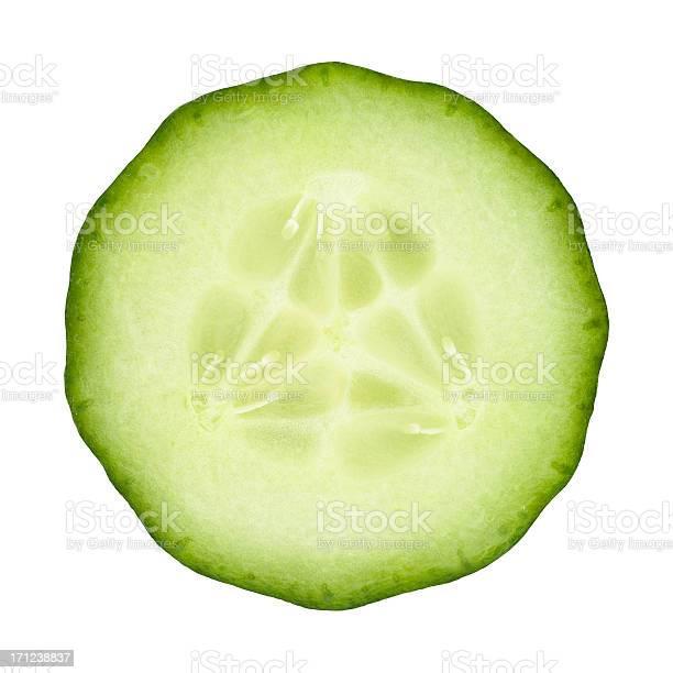 Pepino Parte Em Branco - Fotografias de stock e mais imagens de Alimentação Saudável