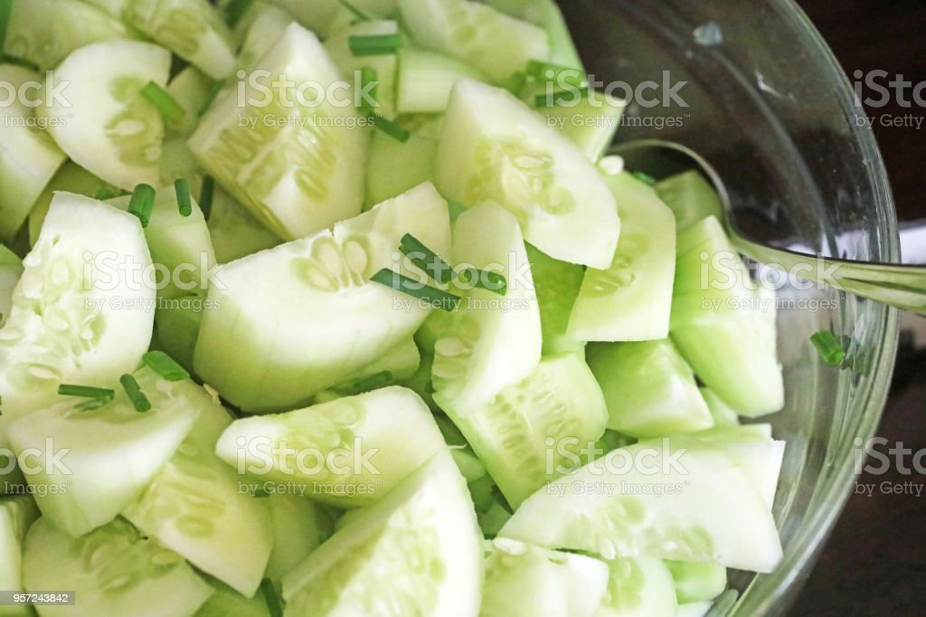 Salade de concombre  - Photo de Aliment libre de droits