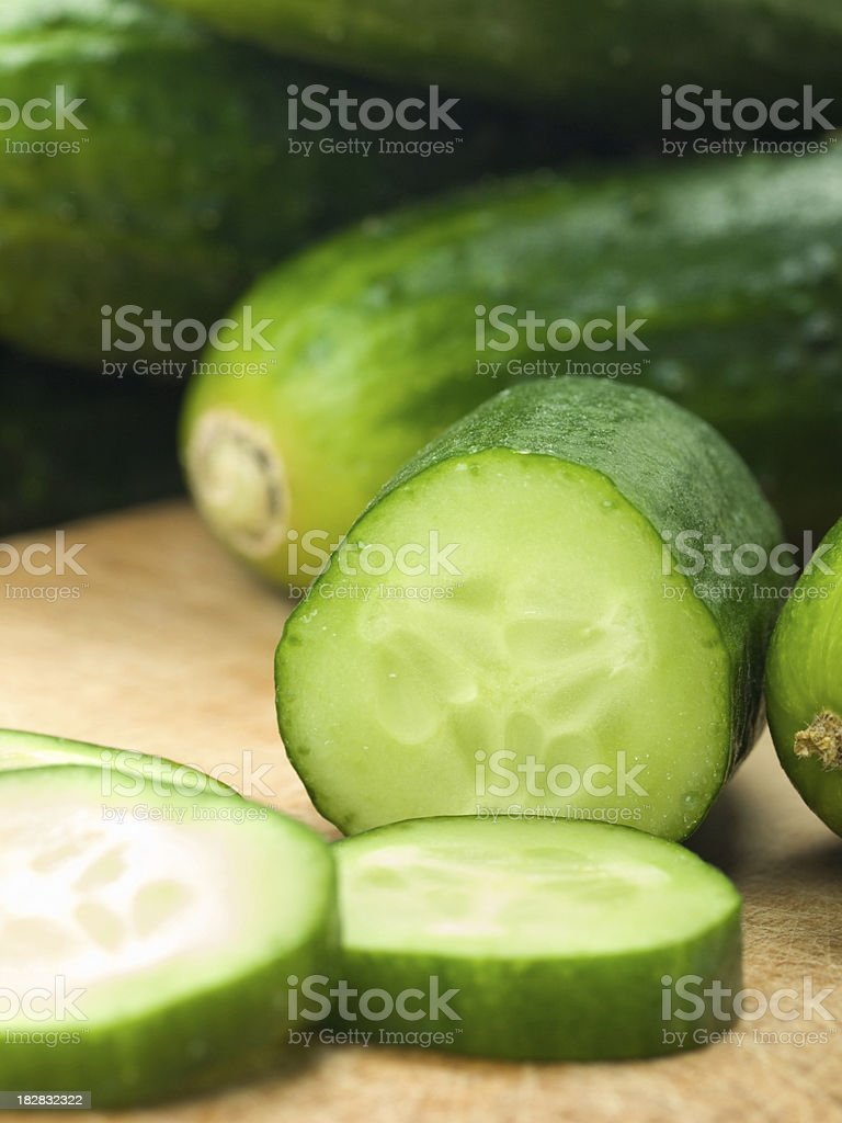 Cucumbers royalty-free stock photo