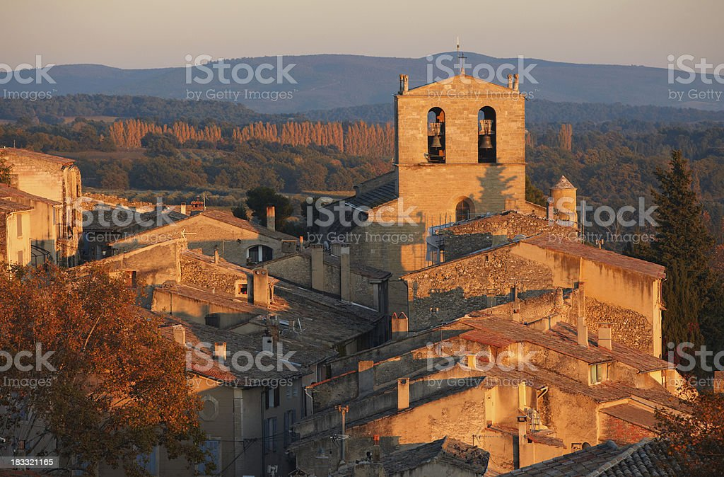 Cucuron, Provence, France royalty-free stock photo