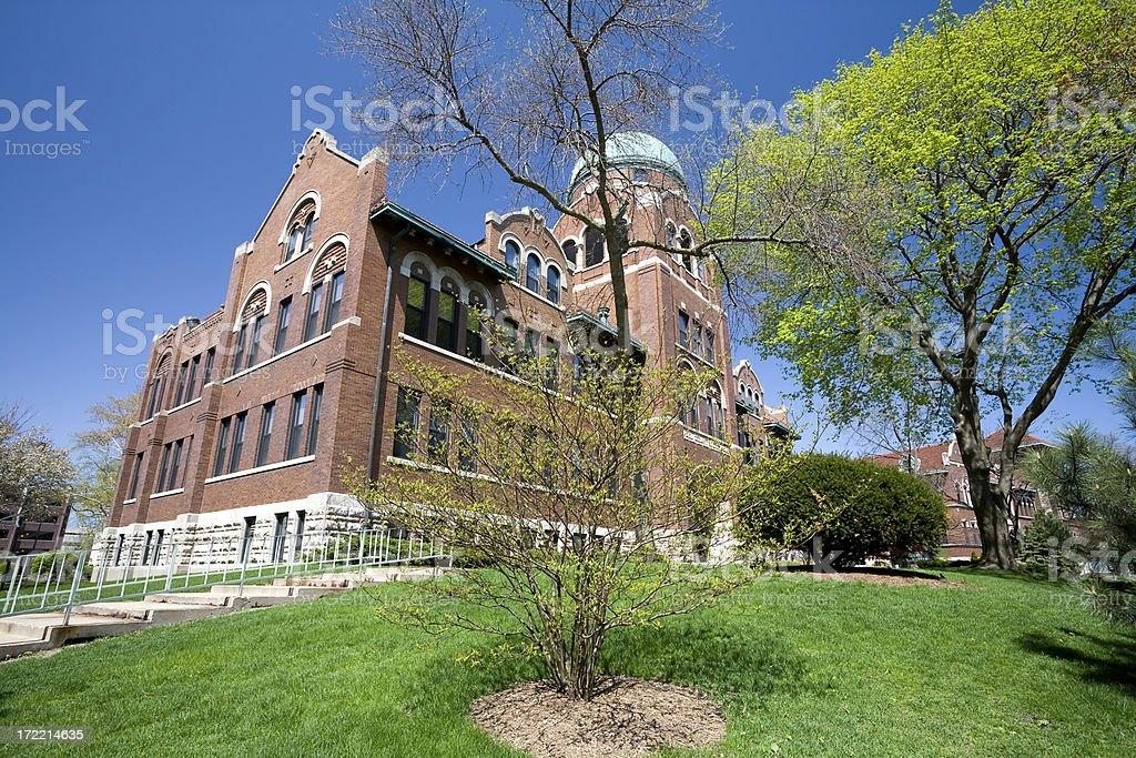 Cudahy Science Hall royalty-free stock photo
