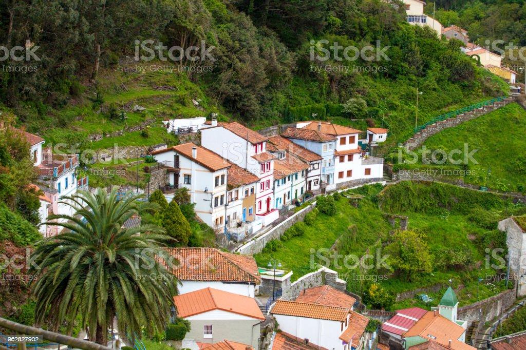 Cudillero, Asturias, Spain stock photo