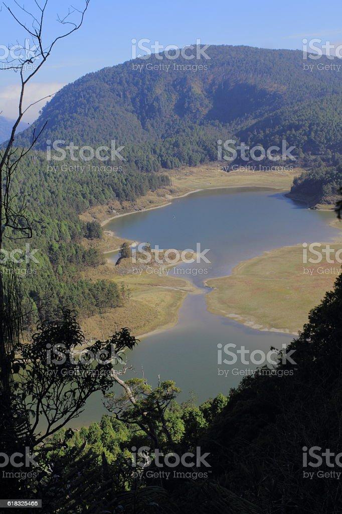 Cueifong Lake Taiwan stock photo